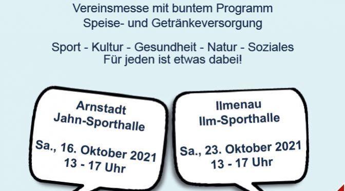 """Tag der Vereine im Ilm-Kreis unter dem Motto """"Ausprobieren. Informieren. Mitmachen."""""""